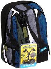 """Ученическа раница - Paint - Комплект със слушалки от серията """"TAG Boy"""" - раница"""