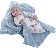 """Кукла бебе с одеялце - От серията """"Paola Reina: Mini Pikolines"""" -"""