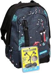 """Ученическа раница - Japan - Комплект със слушалки от серията """"TAG Girl"""" -"""