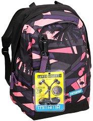 """Ученическа раница - Purple sunset - Комплект със слушалки от серията """"TAG Girl"""" - раница"""