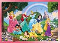 Принцесите на Дисни - Двулицев пъзел с едри елементи -