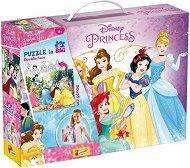Принцесите на Дисни - Двулицев пъзел -