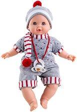 Кукла бебе - Алекс - Плачеща кукла -