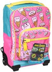 Детски куфар-раница с колелца - Sweets - продукт