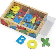 Магнитни английски букви - играчка
