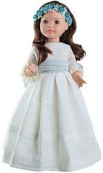 Кукла Лидия с официална рокля - 60 cm - кукла