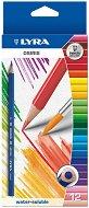 Цветни акварелни моливи - Lyra Osiris - Комплект от 24 цвята и четка