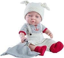 Кукла бебе момченце с кърпа -