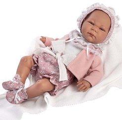 Кукла бебе Аиноа : Лимитирана серия - Комплект с одеяло -