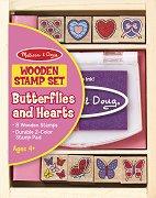Сърца и пеперуди - играчка