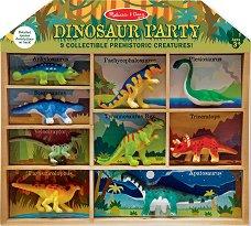 Динозаври - Комплект от 9 фигурки -