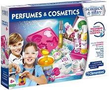 """Научна лаборатория за парфюми и козметика - Образователен комплект от серията """"Clementoni: Science"""" -"""