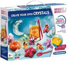 """Лаборатория за кристали - Образователен комплект от серията """"Science Museum Approved"""" - играчка"""