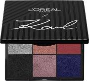 Karl Lagerfeld X L'Oreal Paris Eyeshadow Palette - Палитра сенки за очи -