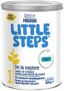 Мляко за кърмачета - Nestle Little Steps 1 - Прахообразен продукт в метална кутия от 400 g за бебета от момента на раждането -
