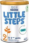 Преходно мляко - Nestle Little Steps 2 - Метална кутия от 400 g за над 6 месеца -