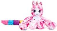 """Еднорогът Ава - Плюшена играчка от серията """"Hugg'ems"""" -"""