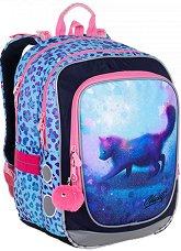 Ученическа раница - Endy: Unicorn kitty - раница