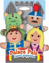 Кукли за куклен театър - Приказни герои - Комплект от 4 броя - играчка