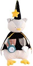 """Бухал магьосник - Активна плюшена играчка за бебе от серията """"Il Etait Une Fois"""" -"""