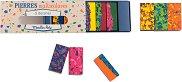 """Восъчни многоцветни блокчета за рисуване - 6 броя от серията """"Les Petites Merveilles"""""""