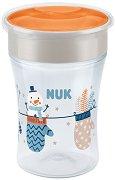 """Преходна чаша 360° - Snow 230 ml - За бебета над 8 месеца от серията """"Magic Cup"""" - чаша"""