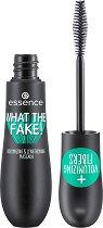Essence What The Fake! Volumizing & Lengthening Mascara - Спирала за дълги и обемни мигли - крем