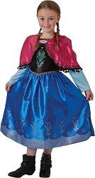 """Парти костюм - Анна - От серията """"Замръзналото кралство"""" - детски аксесоар"""