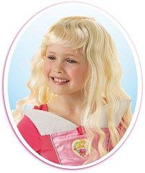 """Перука - Спящата красавица - Парти аксесоар от серията """"Принцесите на Дисни"""" - детски аксесоар"""