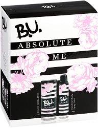 Подаръчен комплект - B.U. Absolute Me - Дамски парфюм и дезодорант - шампоан