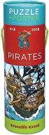 """Пирати - Образователен пъзел от серията """"Crocodile Creek"""" -"""