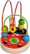 Лабиринт - Калинка - Детска образователна играчка от дърво -