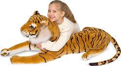 Тигър - Плюшена играчка с дължина 170 cm -
