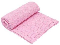 Бебешко одеяло - 100% памук с размери 90 x 80 cm -