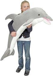 Делфин - Плюшена играчка с дължина 104 cm -