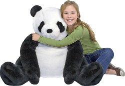 Панда - Плюшена играчка с височина 76 cm -