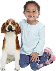 Бигъл - Плюшена играчка с височината 48.3 cm -