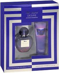 """Antonio Banderas Her Secret Desire - Подаръчен комплект с парфюм и лосион за тяло от серията """"Secret"""" -"""