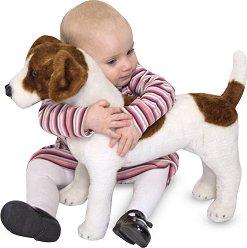 Джак Ръсел - Плюшена играчка с дължина 48.2 cm -