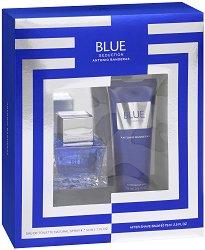 Antonio Banderas Blue Seduction - Подаръчен комплект за мъже - фон дьо тен