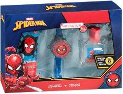 """Детски подаръчен комплект - С козметика от серията """"Спайдърмен"""" -"""