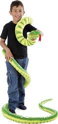 Змия - Плюшена играчка с дължина 350 cm -