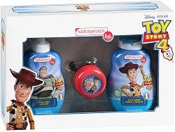 """Детски подаръчен комплект - С козметика от серията """"Играта на играчките"""" - лосион"""