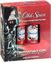 """Old Spice Terminator Dark Fate - Подаръчен комплект за мъже от серията """"Wolfthorn"""" - продукт"""