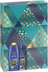 Подаръчен комплект за мъже - Fa Men Brazilian Vibes Ipanema Nights - Душ гел и дезодорант - продукт