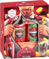"""Old Spice Citron - Подаръчен комплект с козметика за мъже от серията """"Citron"""" - шампоан"""