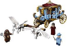 """Каляската на Бобатон пристига в Хогуортс - Детски конструктор от серията """"LEGO: Хари Потър"""" -"""