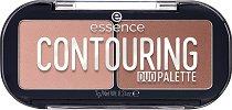 Essence Contouring Duo Palette - Палитра за контуриране на лицето -