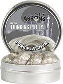 """Антистрес желе - Pure Platinum - От серията """"Crazy Aaron's"""" -"""