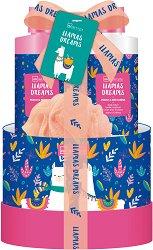IDC Institute Llamas Dreams - Подаръчен комплект с козметика за тяло -